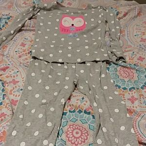 2 piece girls PJ set